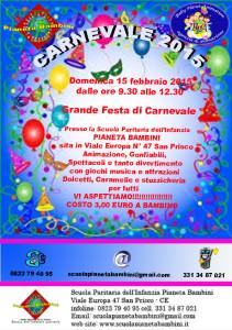 locandina carnevale 2015